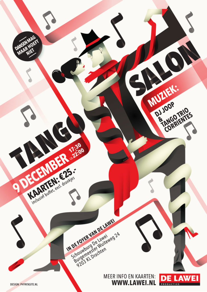 De Lawei Poster Tango Salon